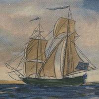 Types of Pirate Ships - Brigantine