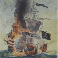 Types of Pirate Ships - Naval Combat