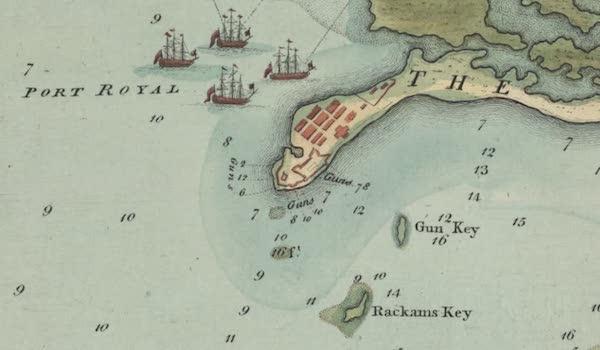 Jack Rackham - Rackham's and Gun Key Map