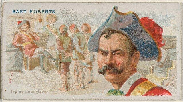 Bartholomew Roberts - Pirates of the Spanish Main (1888)
