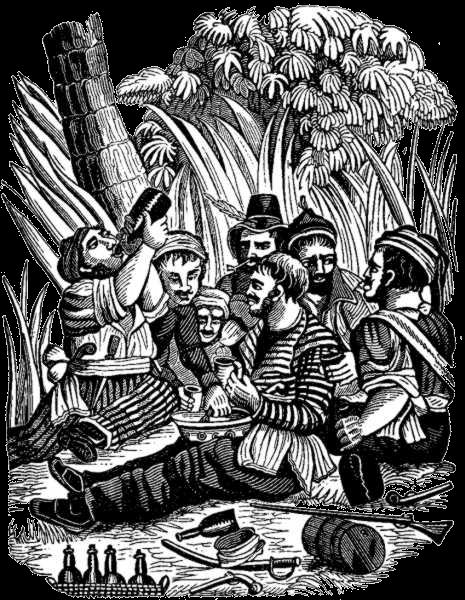 Bartholomew Roberts - Roberts Crew at Old Calabar River