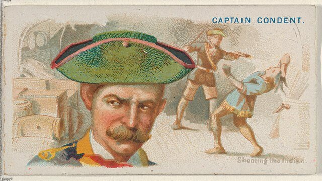 Captain Condent - Pirates of the Spanish Main (1888)