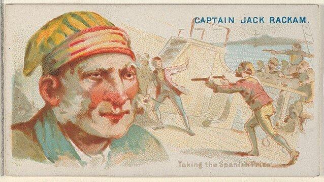 Jack Rackham -Pirates of the Spanish Main (1888)
