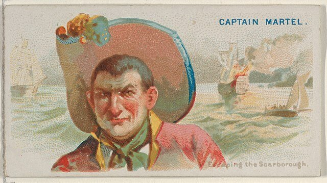Captain Martel - Pirates of the Spanish Main (1888)