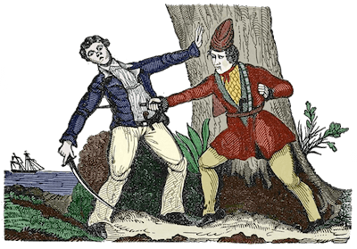 Mary Read - Mary Read Killing (The Pirates Own Book - 1837)