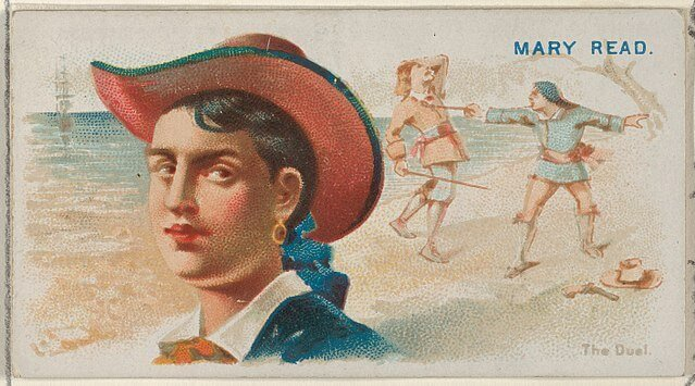 Mary Read - Pirates of the Spanish Main (1888)