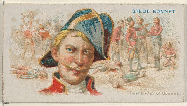 Stede Bonnet - Pirates of the Spanish Main (1888)