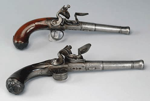 Pirate Lifestyle - Pirate Weapons - Flintlock Pistols